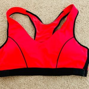 NWOT Marika Hot Red Sports Bra Size XL